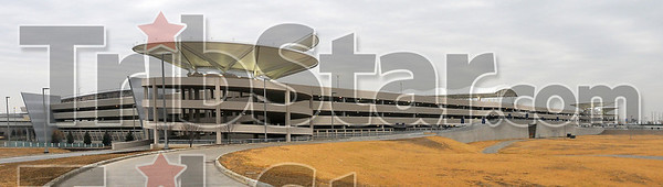 Parking available: The new parking garage at the Inddianapolis airport has nearly 6,000 spaces.