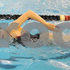 Free: Terre Haute South's Cristina Elliott swims freestyle during swim practice Tuesday, Feb. 5 as she prepared for the state swimming finals.