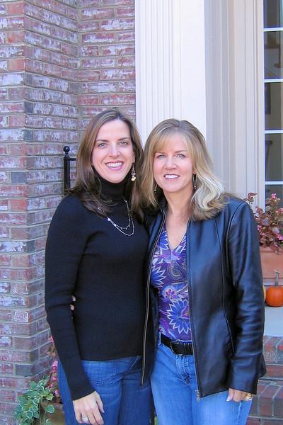 Elizabeth and Mary Jo