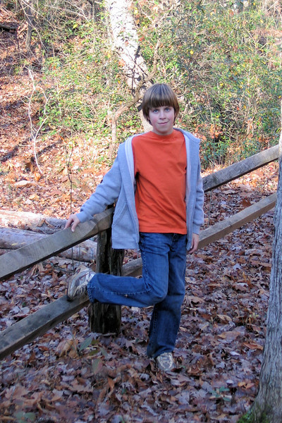 Jacob at Camp Grimes