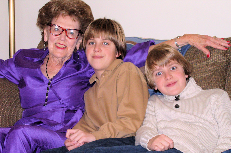 Aunt Margie and the boys