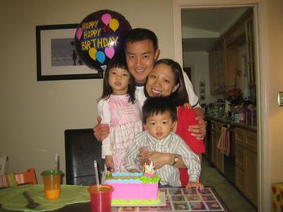 November 4, 2008 - Polly's BDay at Home