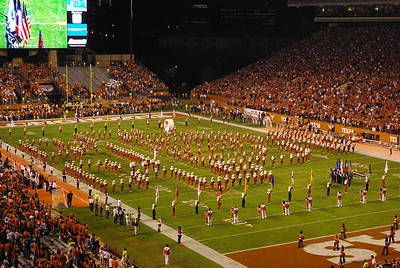 Univ of Texas marching band