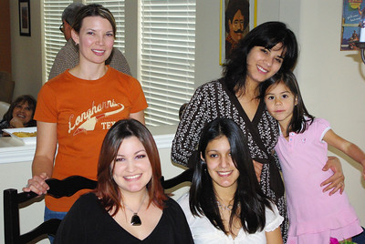 Tammy, Maria, Camila, Corina, and Melinda