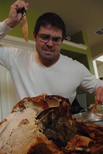 No!  Save the turkey!