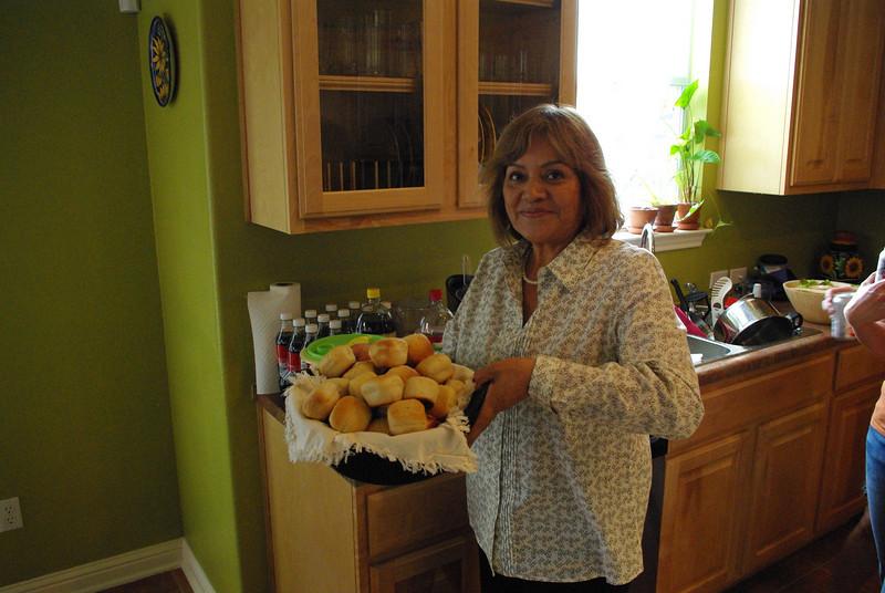 Teresa Sanchez, Pedro's Mom