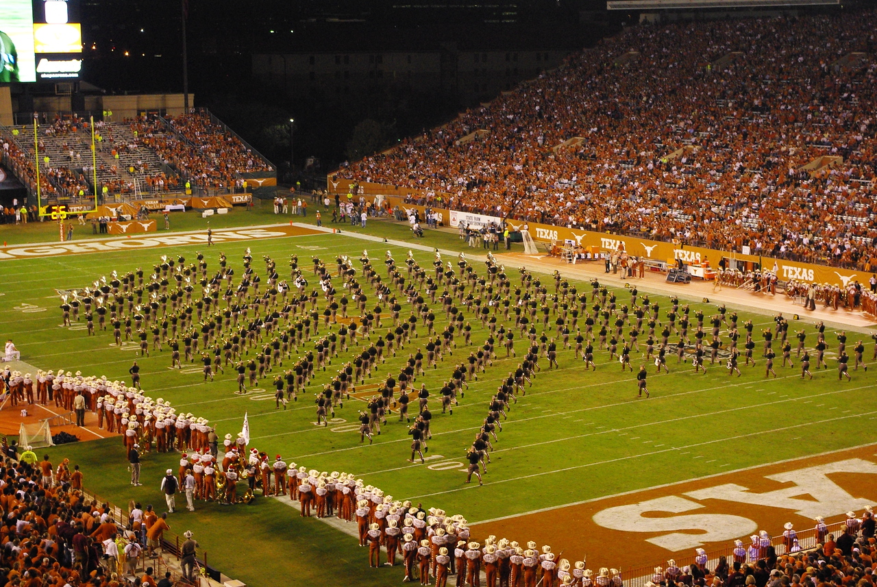 The Texas A&M Marching Band