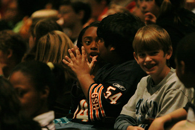 Children's Day at the Opera, an event in which local area elementary school students get the chance to witness Gardner-Webb students perform an opera; November 4, 2008.