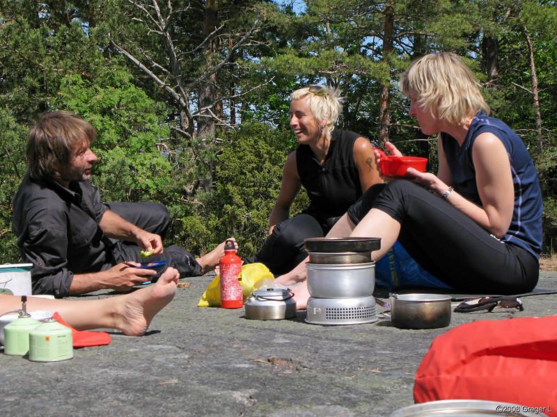 Per, Siri and Karin