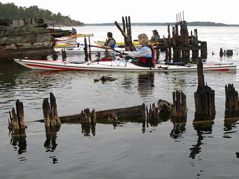 Shipwreck at Husarö
