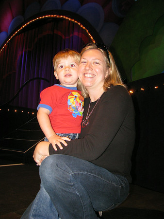 Oct. 12-18, 2008 (Happy Birthday Jen. The Yellins go to Sesame Street Live Elmo's Green Thumb. Hailey plays her final soccer game of the season.)