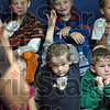 Eager: A group of kindergarten students prepare to watch a video at the Children's Museum Thursday afternoon.