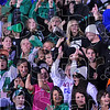 Go team: Viking fans react to one of West Vigo's 5 first half scores.