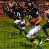 Big plays: Viking Nick Cramer caught a pass for 72 yards for a touchdown against Sullivan Friday night at West Vigo