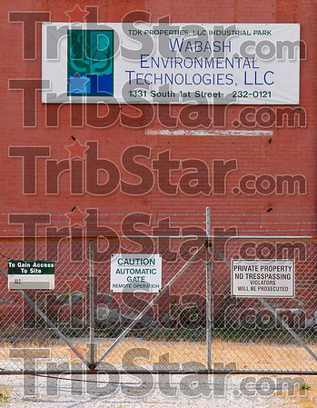 Potential danger: The EPA has made plans to remove hazardous and potentially hazardous materials from the Wabash Environmental Technologies property starting in November.