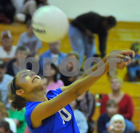 Defense: Honey Creek's Ashley Bazier sets up a teammate.