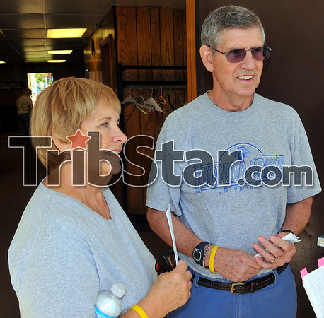 Neighbors: Al and Judy Lucas are longtime residents of the Collett Park neighborhood.