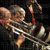 """Her passion: Claudia Fulwiler sings """"Pete Kelly's Blues"""" as the Men of Note play during the band's performance Sunday in Oakley Auditorium at Ivy Tech Community College."""