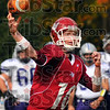 On target: Engineer quarterback Derek Eitel throws early in their game against Bluffton.