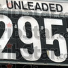 Gas prices: Detail photo of current gas prices as of 10/13/08.