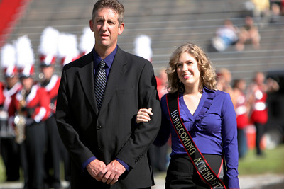 Homecoming court; October 25, 2008.