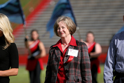 This year's Gallery of Distinguished Alumni/Graduates was recognized during the halftime show at the Homecoming football game; October 25, 2008.