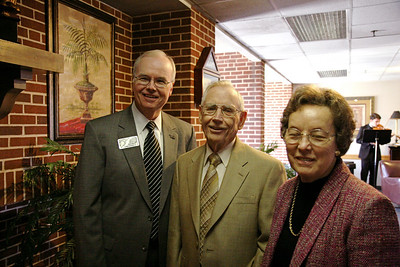 A meeting with members of the Legacy Society and a dinner to follow in Ritch Banquet Hall; October 28, 2008.