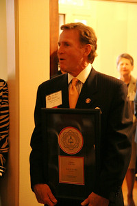 A presidential reception held during homecoming weekend, wherein Ryan Hendley was named Alumn of the Year, 2008.
