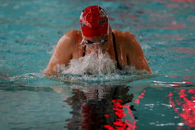 GWU Swimming; October 25, 2008.