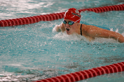 GWU Swimming; October 25, 2008.