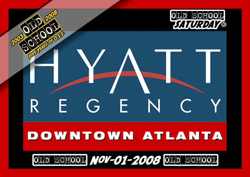 "This is the 1st of TWO [2] OSS events in November... we have another one for you on Nov-22-2008 @ The Sheraton Downtown.  Info & Tickets:   <a href=""http://www.oldschoolsaturday.com"">http://www.oldschoolsaturday.com</a>"