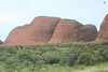Kata Tjuta as we get closer