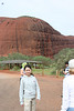 Here we are, at Kata Tjuta as we begin our Olga Gorge Walk (Tatintjawiya), which is a 2km walk into the beautiful gorge.