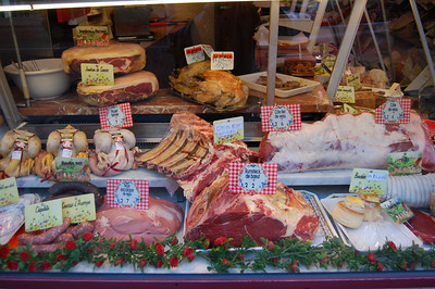 Butchershop Window