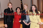 NEW YORK-OCTOBER 30:  Louise Valenti, Norma Salome, Sarah Knutson, Marta Varela attend PRO MUJER 2008 Benefit Celebration at The IAC Building, 555 West 18th Street, New York City, NY on Thursday, October 30, 2008 (Photo Credit: Gregory Partanio/ManhattanSociety.com)