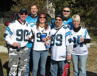 Panthers @ Falcons November 23rd, 2008