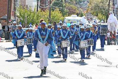 The Approaching Storm marching band participated in the First African American Unity Day Parade in 27 Years, held October 4, 2008 in the City of Newburgh.