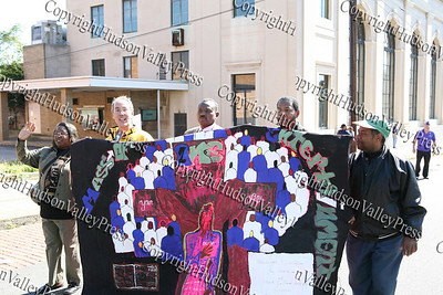 Mass of One Entertainment marches in the First African American Unity Day Parade in 27 Years,  held October 4, 2008 in the City of Newburgh.
