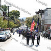 The color guard leads the First African American Unity Day Parade in 27 Years down Liberty Street on October 4, 2008 in the City of Newburgh.