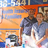 Anthony Roman and Elizabeth Burgos of Wellcare at the 13th Annual Latin American Festival in Beacon, NY.