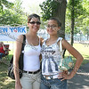 Luz Oliveras and Bianca Vaez at the 13th Annual Latin American Festival in Beacon, NY.