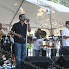 Luisito Rosario and his orchestra at the 13th Annual Latin American Festival in Beacon, NY.