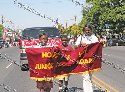 House of Joy march down Broadway in the City of Newburgh during the annual Memorial Day Parade.