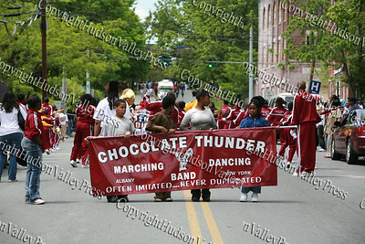 Chocolate Thunder participates in the City of Newburgh Third Anuual Youth Pride Parade, held on Saturday, May 17, 2008