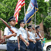 NFA ROTC Color Guard lead the City of Newburgh Third Anuual Youth Pride Parade, held on Saturday, May 17, 2008.