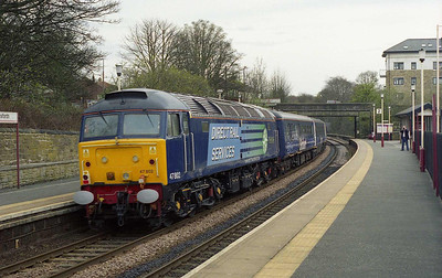 47802 is again pictured on the rear of the train as it passes through Horsforth (26/04/2008)