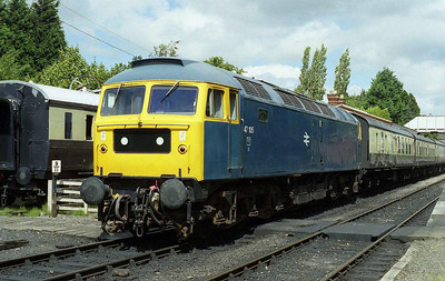 47105 waits to depart from Toddington with the 1240 to the Race Course (01/08/2008)