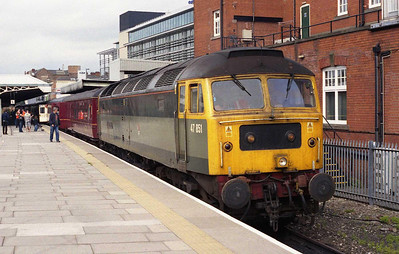 47851 'Traction Magazine' waits to depart from Nottingham with East Midlands Trains' 1E27 1021 to Skegness (16/08/2008)