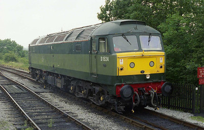 47004 waits for the road onto the shed at Embsay after working 1L07 1100 from Bolton Abbey on the first day of the Diesel Weekend at the Embsay & Bolton Abbey Railway (18/07/2008)