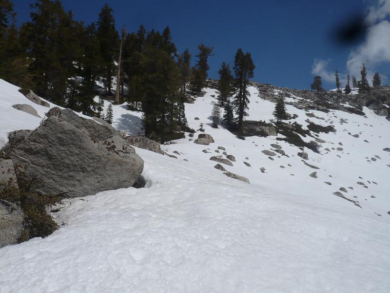 The Ridge before Emerald lake, no need to go up that far